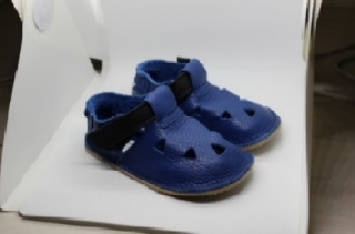 Baby Bare Shoes IO Submarine - Top Perforation, barefoot botičky